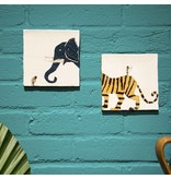 Storytiles  Decorative Tile  As Brave as You Medium