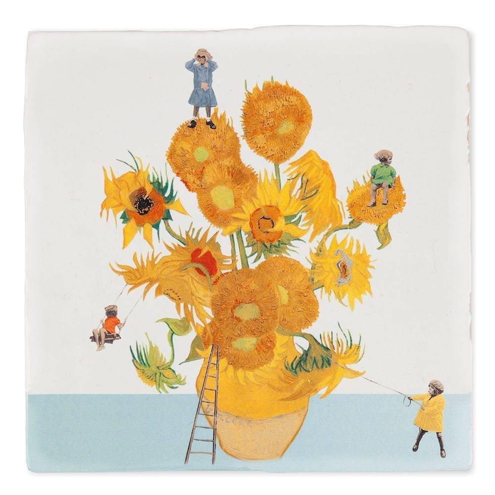 Storytiles Decorative Tile The Sunflower Expedition Small