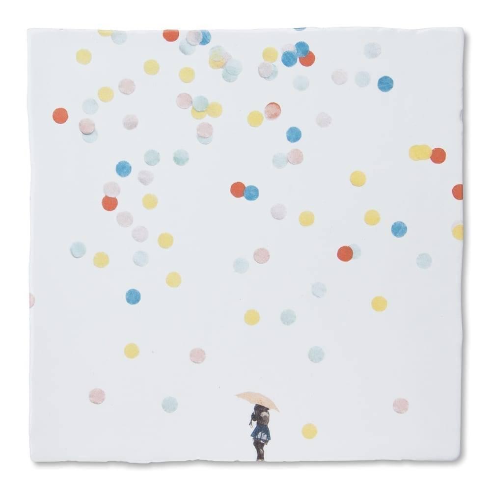 Storytiles Dekorative Fliese Under the Umbrella Small