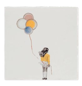 Storytiles Decorative Tile A Wish Balloon Small