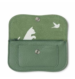 Keecie Wallet Cat Chase Small Forest