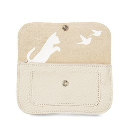 Keecie Wallet Cat Chase Medium Cement