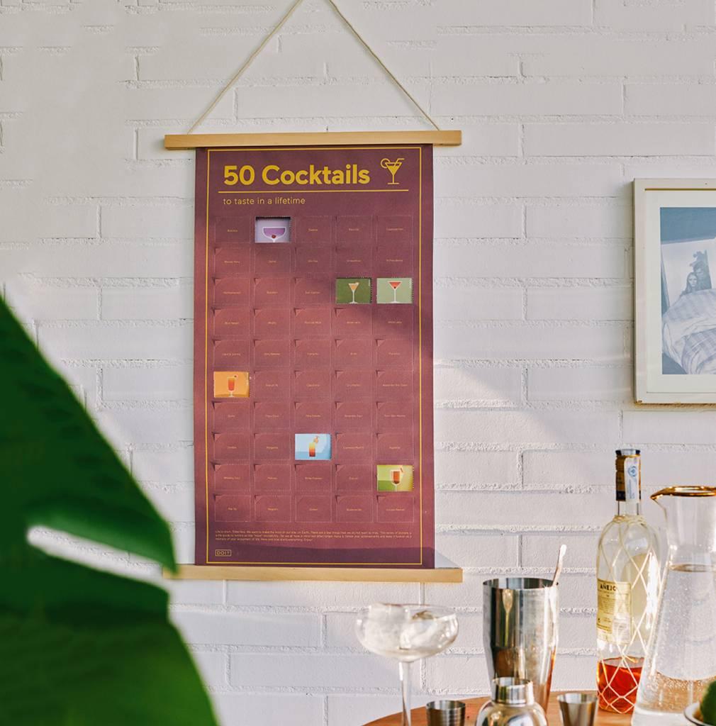 doiy Poster 50 Cocktails