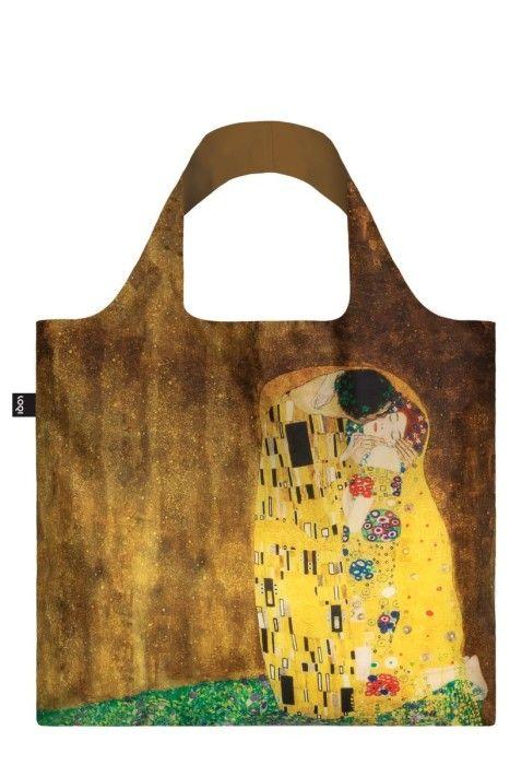 111fc2e680a LOQI Opvouwbare Shopper Museum The Kiss Gustav Klimt ...