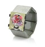 S.T.A.M.P.S Horlogeband Belta Structure Silver