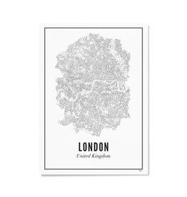Wijck Poster Londen 21 x 30 cm
