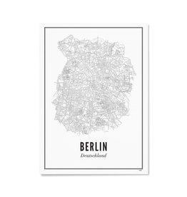 Wijck Poster Berlijn 21 x 30 cm