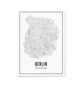 Wijck Poster Berlin 21 x 30 cm