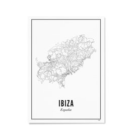 Wijck Poster Ibiza 21 x 30 cm