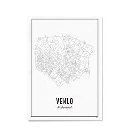 Wijck Poster Venlo 30 x 40 cm