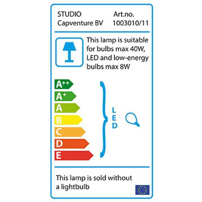 Puhlmann Tafellamp Studio zwart