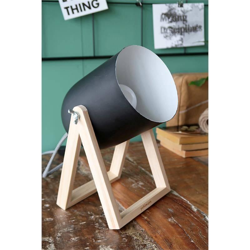 Puhlmann Tischlampe Studio schwarz