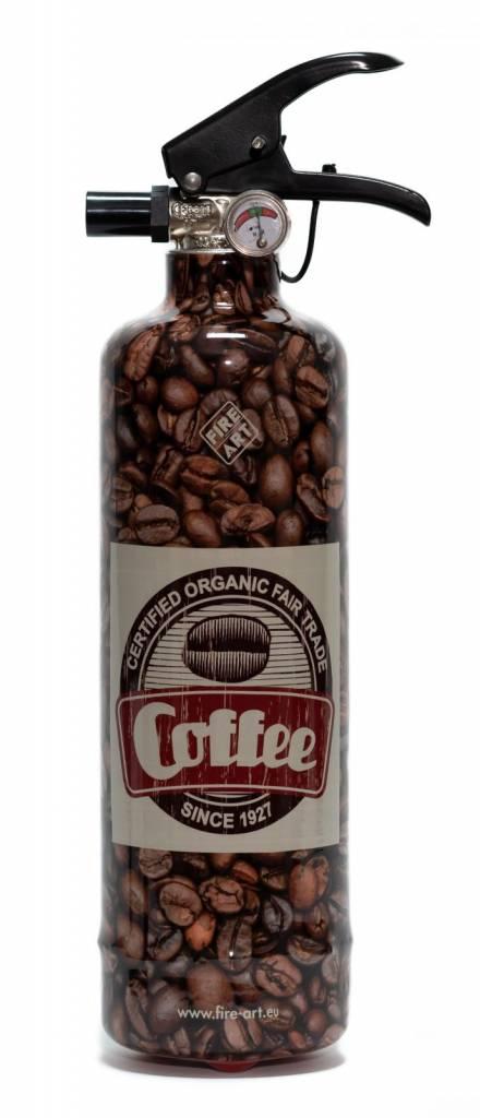 Fire-Art Fire extinguisher Coffee Beans