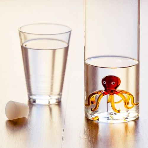 Balvi Wasserflasche Octopus