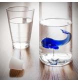 Balvi Water Bottle Blue Whale