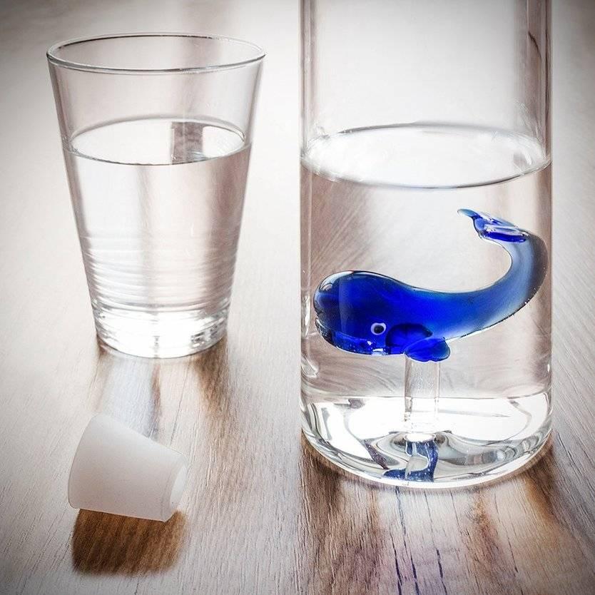 Balvi Waterfles Blue Whale