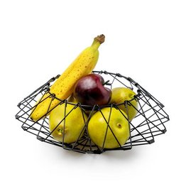 Balvi Fruitmand Multi Form zwart