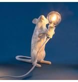 Seletti Lamp Mouse stehend weiß