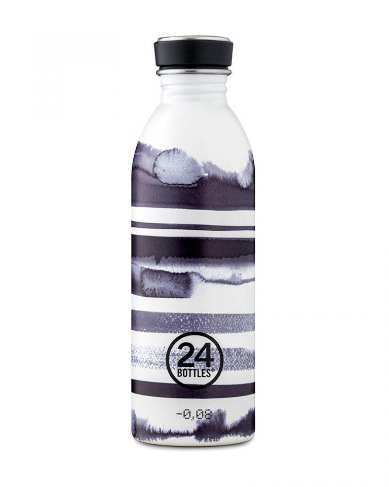 24Bottles Drinkfles Urban Bottle 0,5 L  Stripes