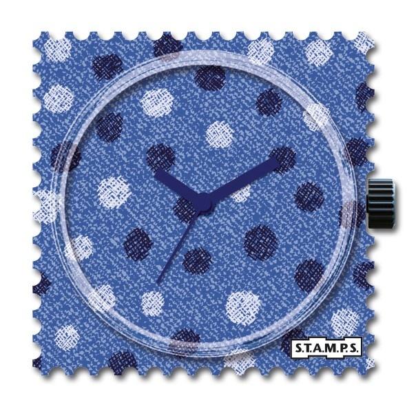 Stamps Klokje  Jeans Dots
