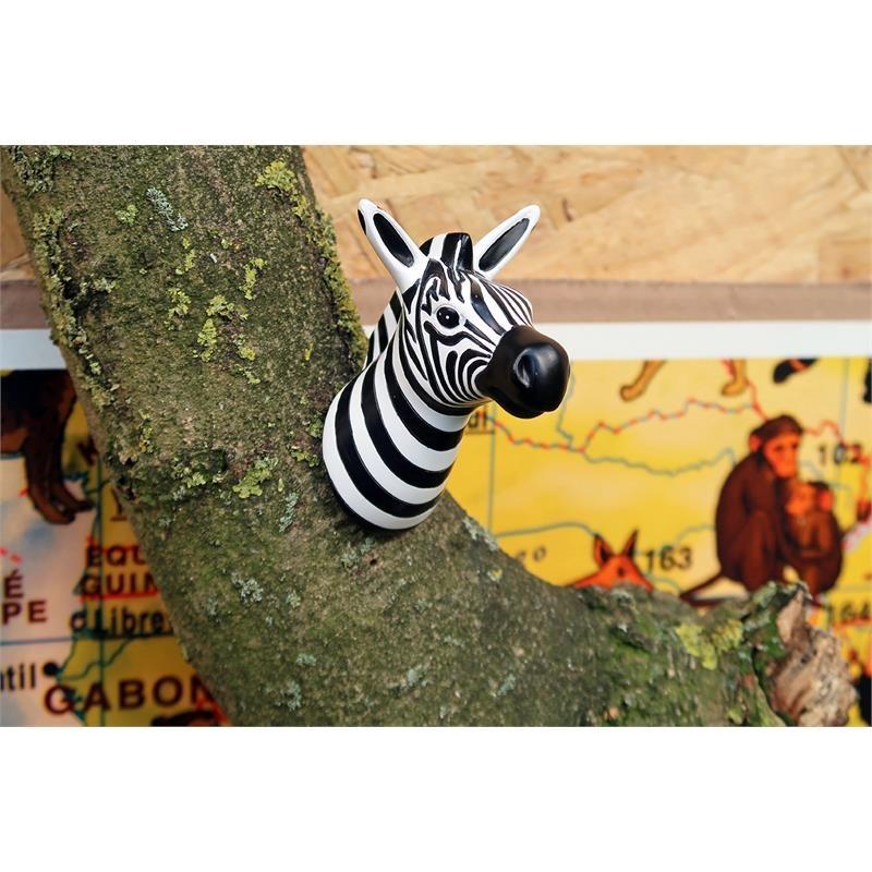 The Zoo Garderobe Haken Zebra