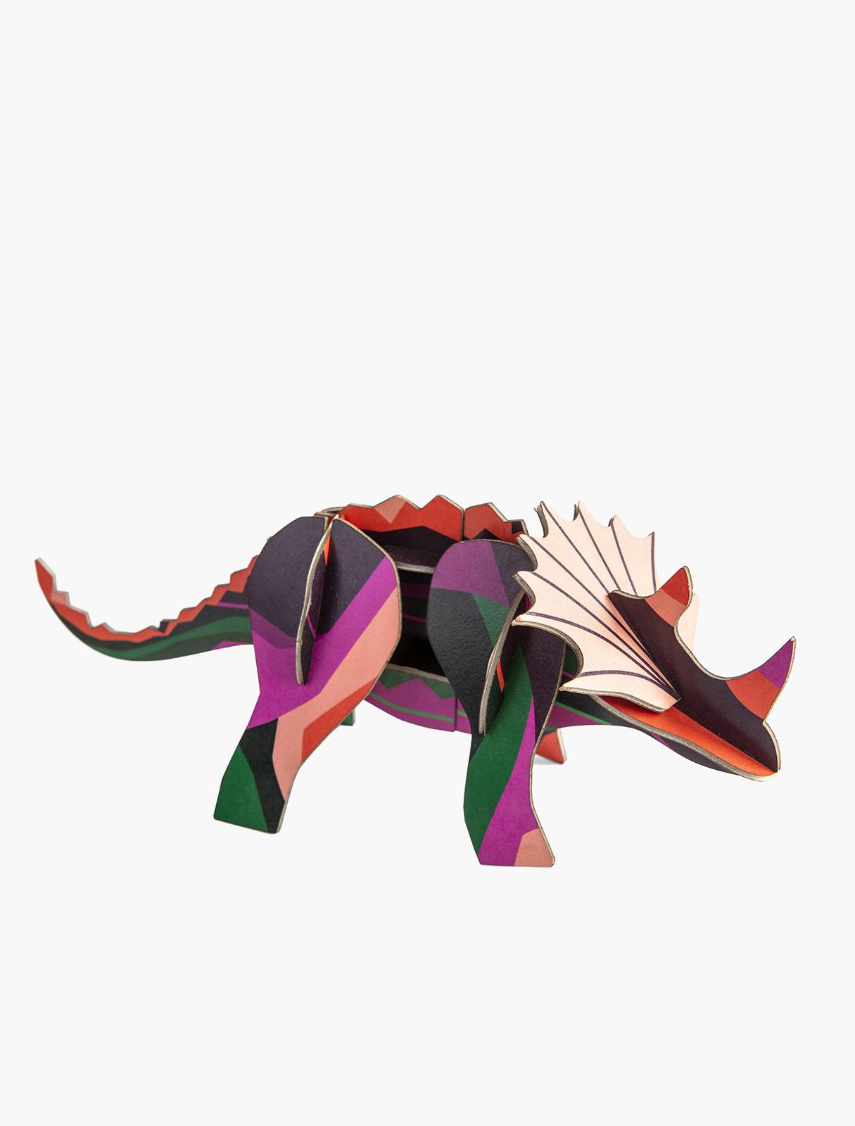 Studio Roof Baukasten Totem Triceratops
