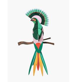 Studio Roof 3D Wall Decoration Paradise Bird Gili