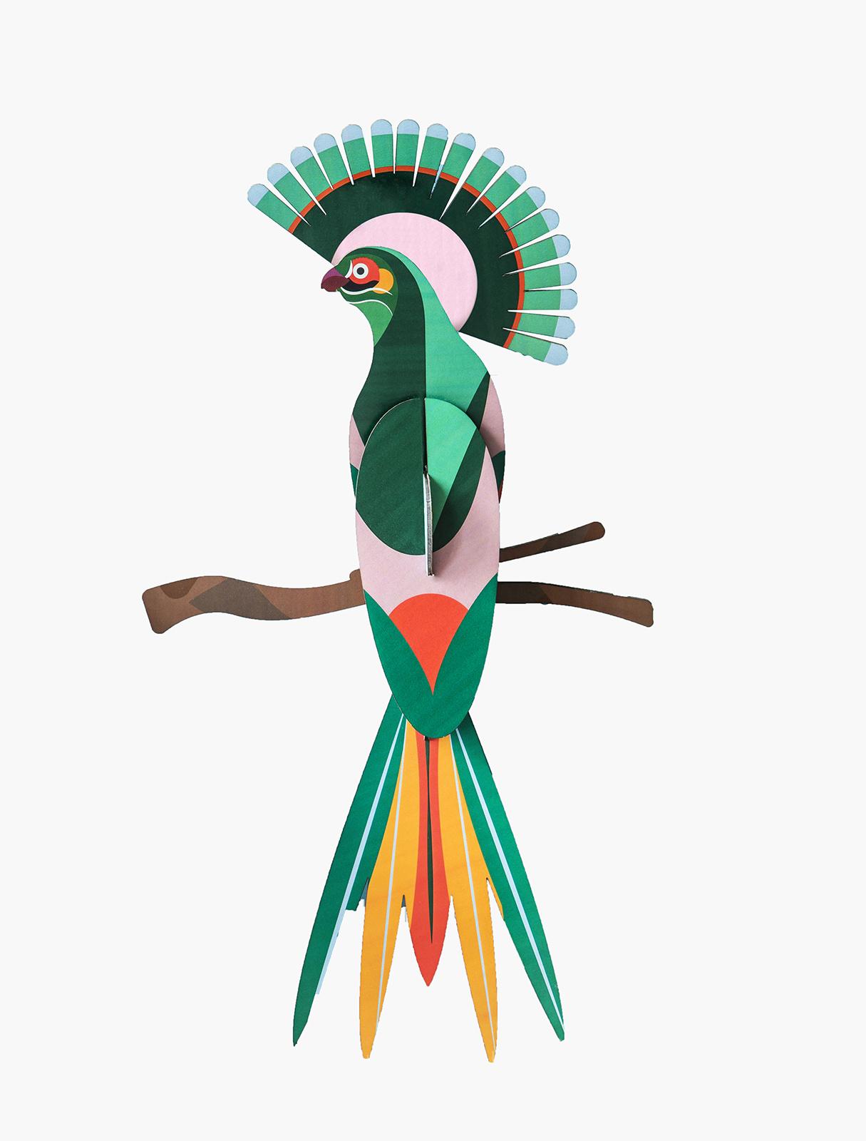 Studio Roof 3D Wanddecoratie Paradise Bird Gili