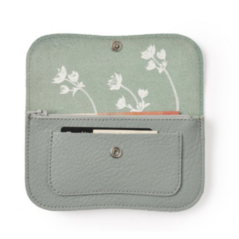 f25ab4397ec Keecie Portemonnee Flash Forward Medium Dusty Green - Kado in Huis
