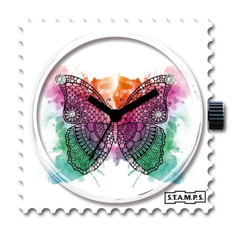 S.T.A.M.P.S Klokje  Diamond Butterfly