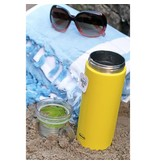 Cabanaz Thermo Bottle with Cup 0.6L yellow