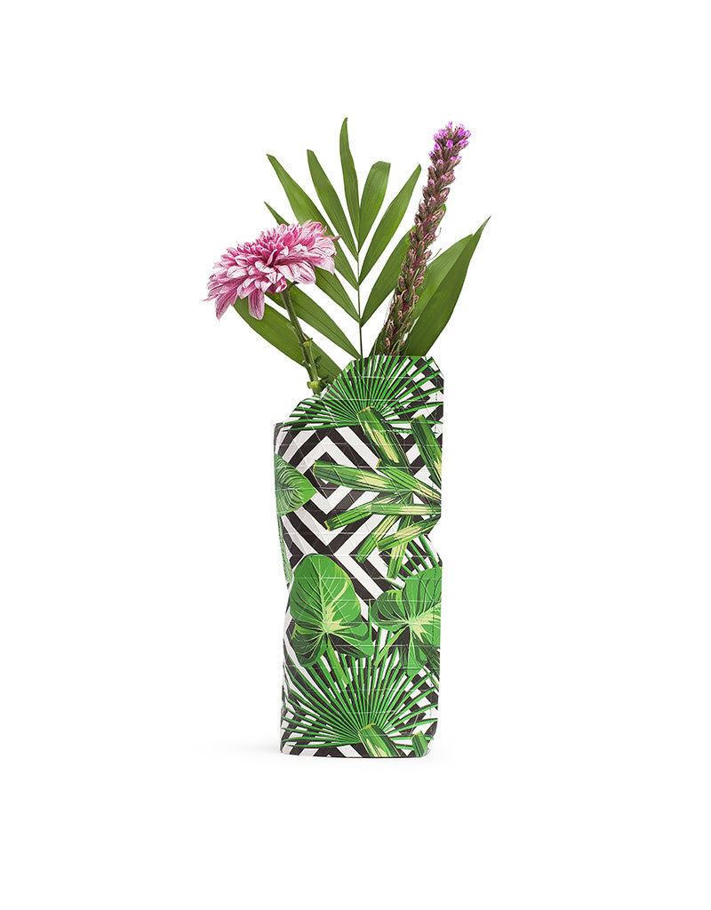 Pepe Heykoop Paper Vase Cover Geo Jungle small
