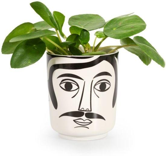 Kitsch Kitchen Flower Pot  Mr. Hamilton