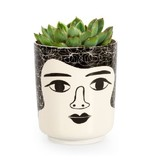 Kitsch Kitchen Flower Pot  Mrs. Bauer