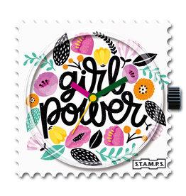 S.T.A.M.P.S Klokje Girl Power