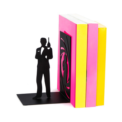 Balvi Bookend James Bond black