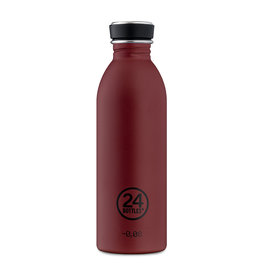 24Bottles Urban Drinking Bottle  0,5 L Stone Country Red