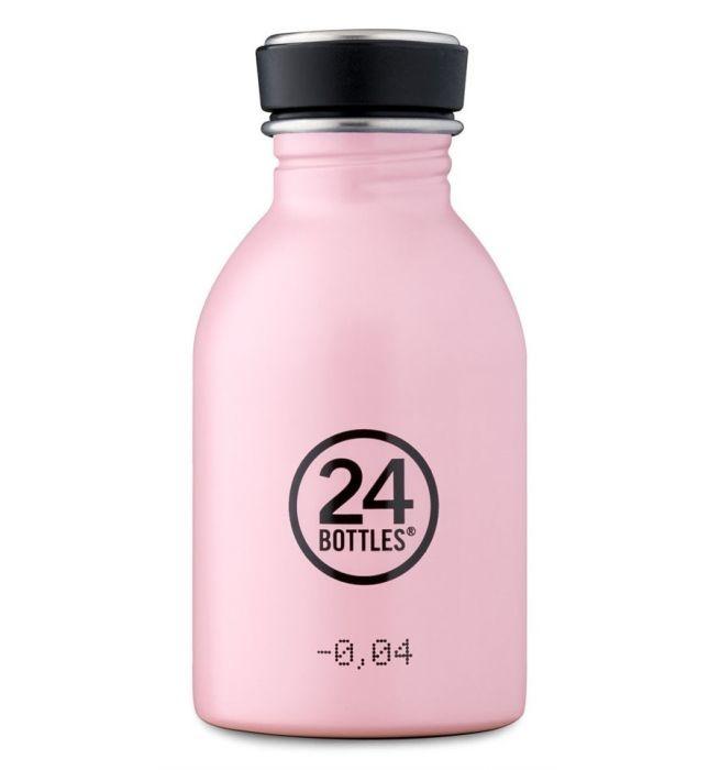 24Bottles Urban Drinking Bottle 0,25 L Candy Pink