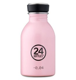 24Bottles Urban Drinking Bottle  0,25 L Candy Pink