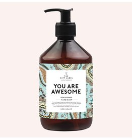 The Gift Label Handzeep  You are Awesome 500ml