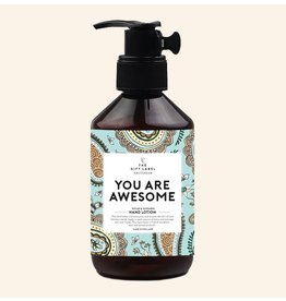 The Gift Label Hand Lotion You are Awesome 250ml