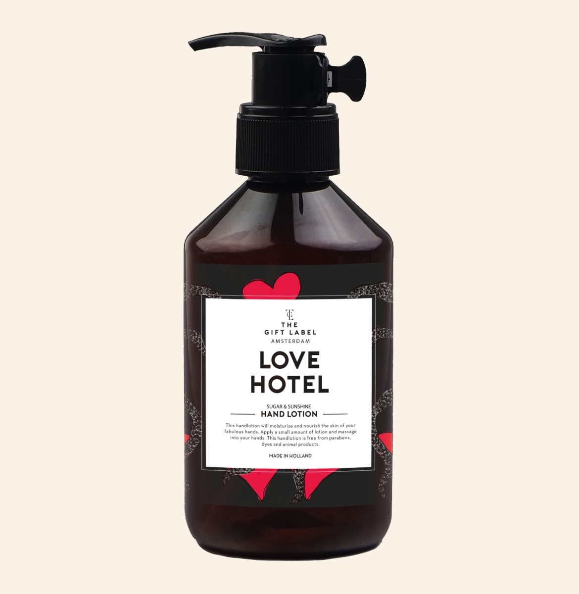 The Gift Label Handlotion Love Hotel 250ml