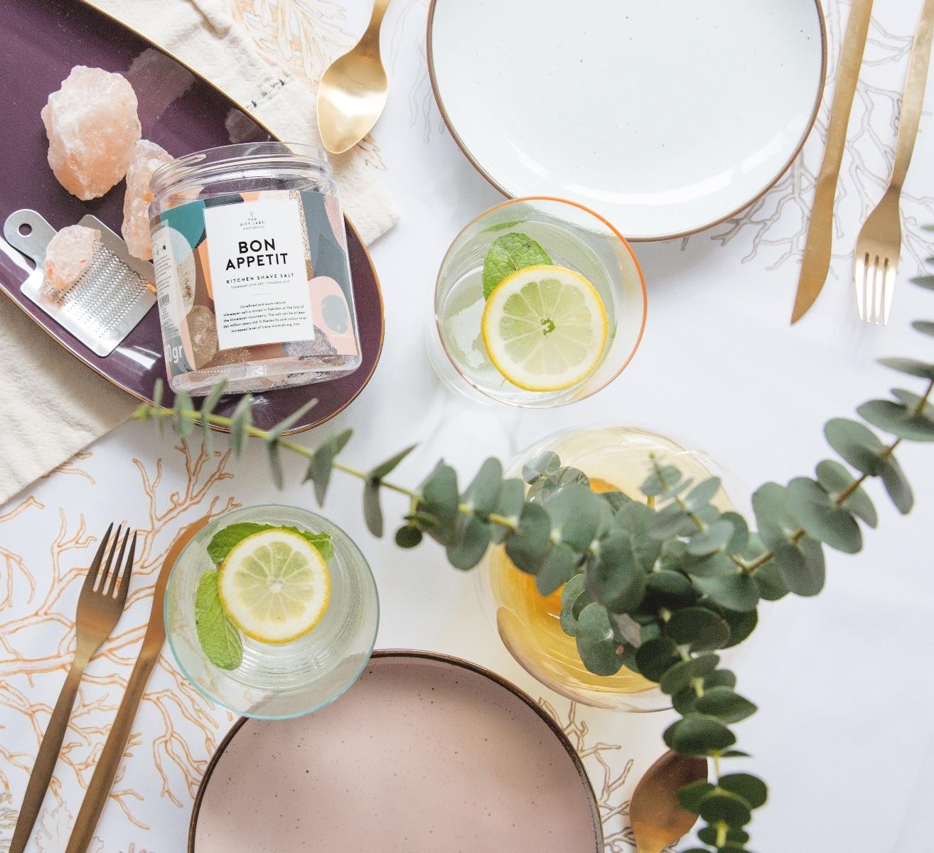The Gift Label Table Salt Bon Appetit