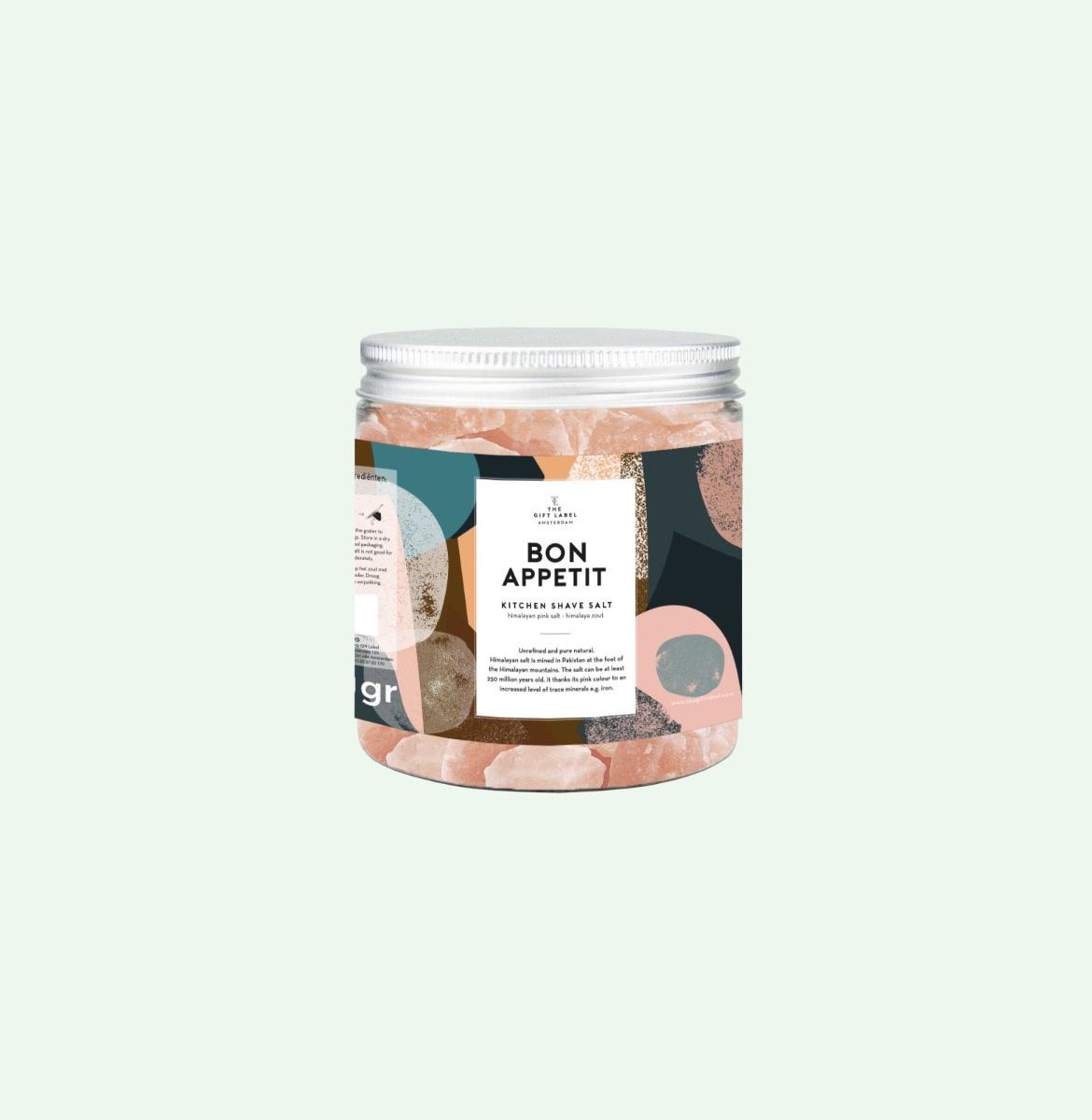 The Gift Label Tafelsalz Bon Appetit