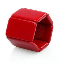 S.T.A.M.P.S Horlogeband Belta Red