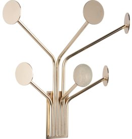 Presenttime Coat rack Wall Dots gold
