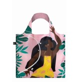 LOQI Opvouwbare Shopper Jungle Fairy Celecte Wallaert