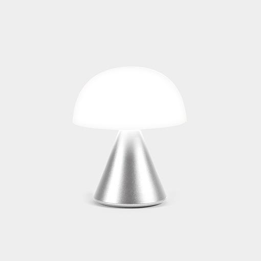 Lexon Oplaadbaar LED Lampje Mina zilver