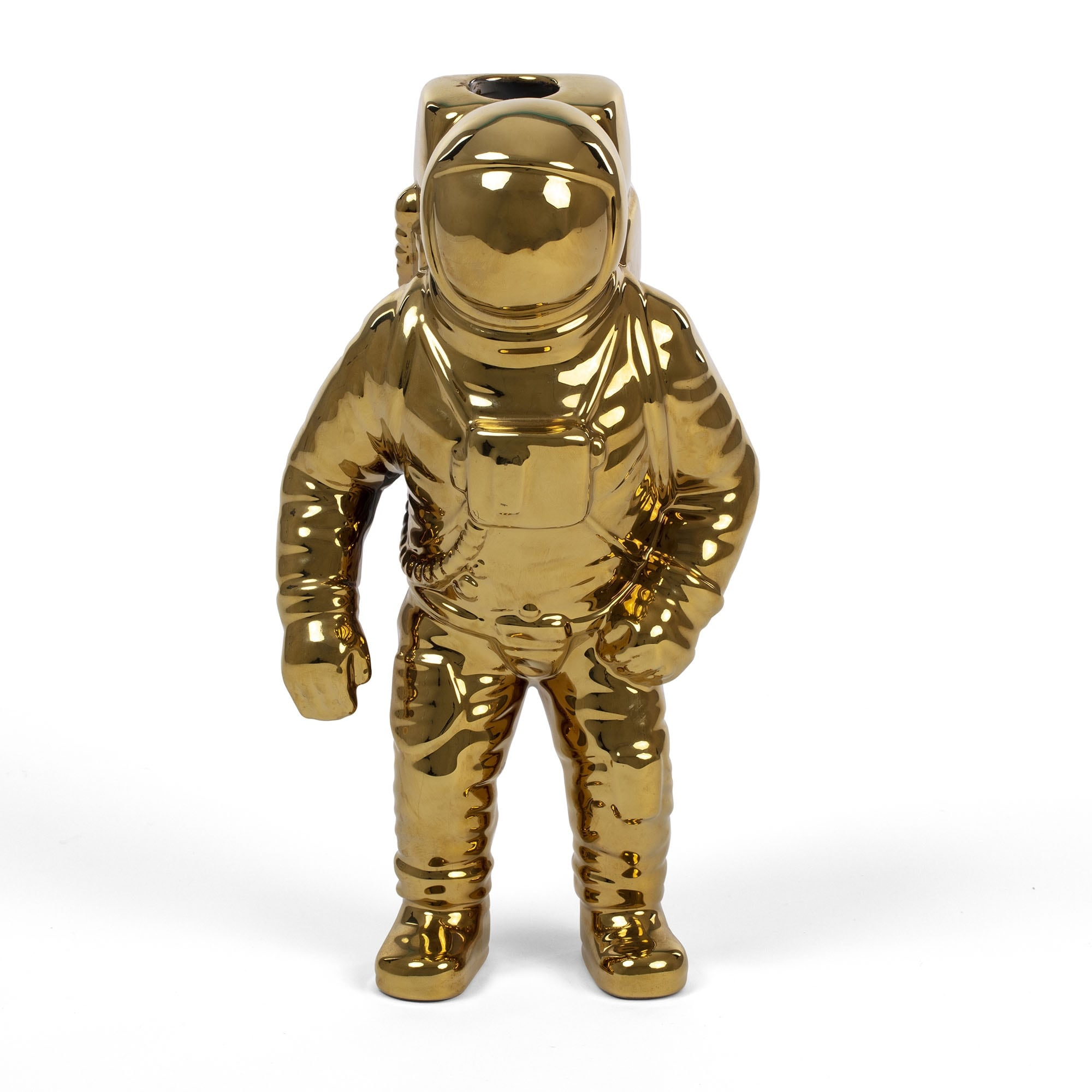 Seletti Vase Starman gold