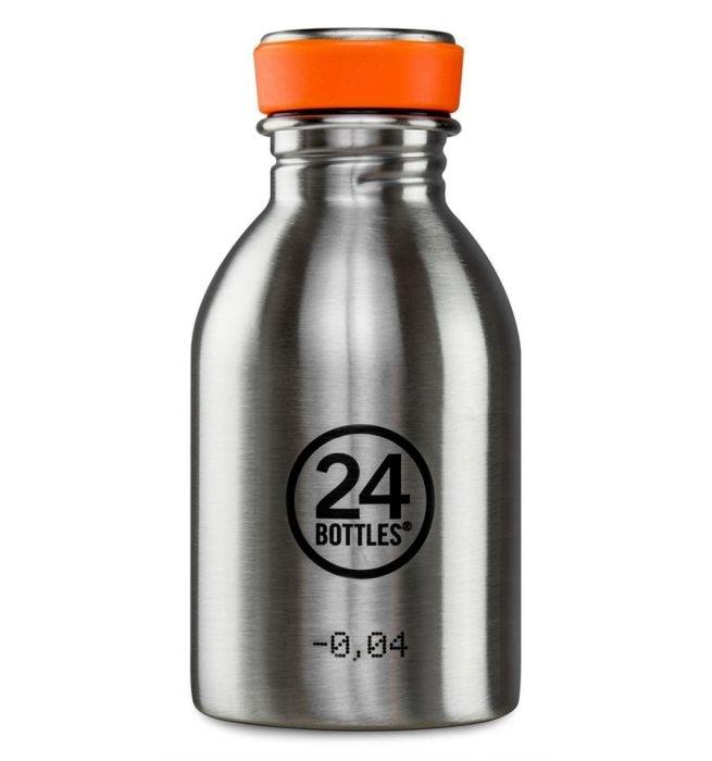 24Bottles Drinkfles Urban Bottle 0,25 L  Steel